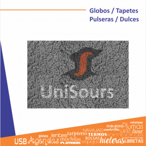 Globos / Pulseras / Dulces / Tapetes